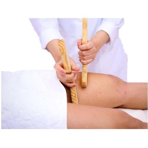 Kit Massagem Corporal Rolo Turbinado + Par de Pantalas - Victoria