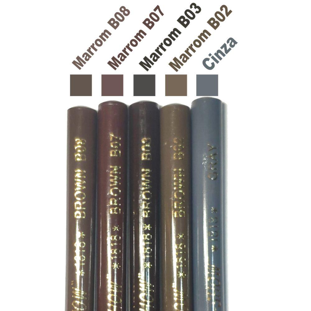 Lapis Dermatografico Dermográfico Sobrancelhas Micropigmentação Coloured