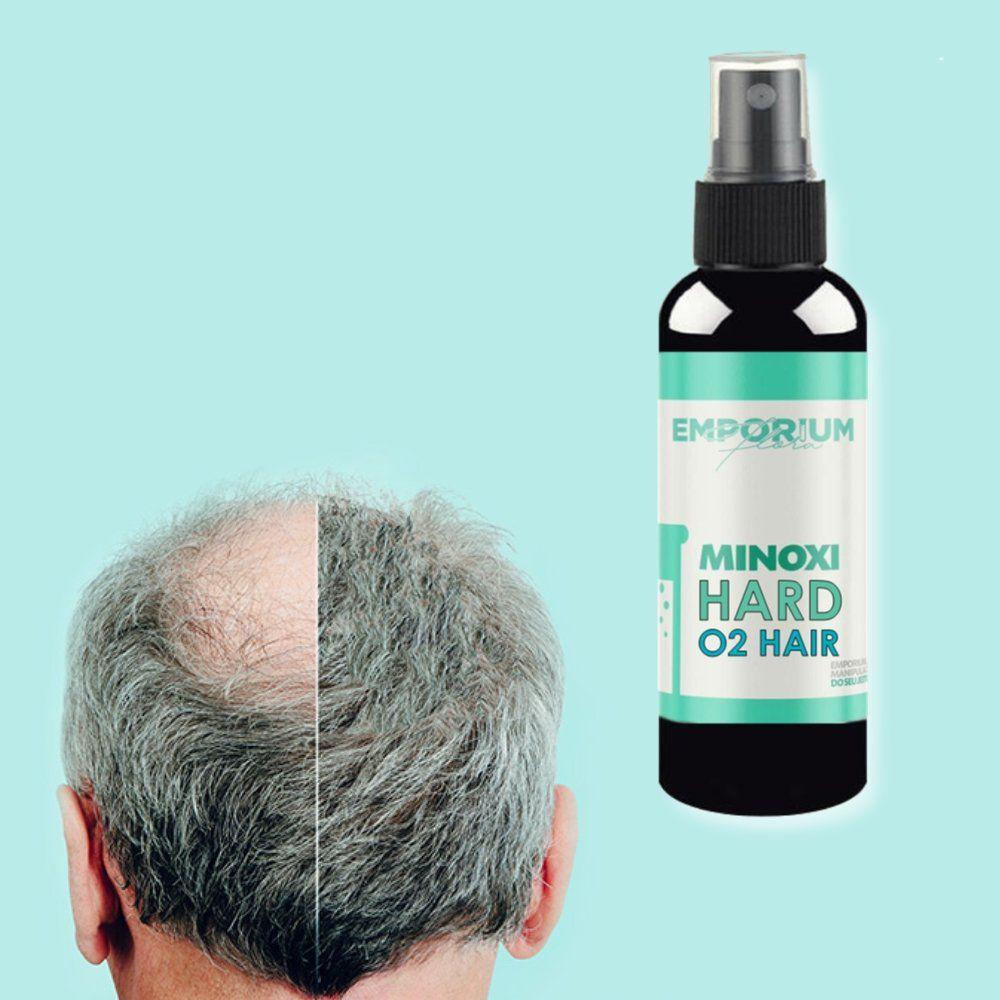 Loção Capilar Minoxidil + O2 Hair Antiqueda Crescimento Cabelo e Barba - 100ml