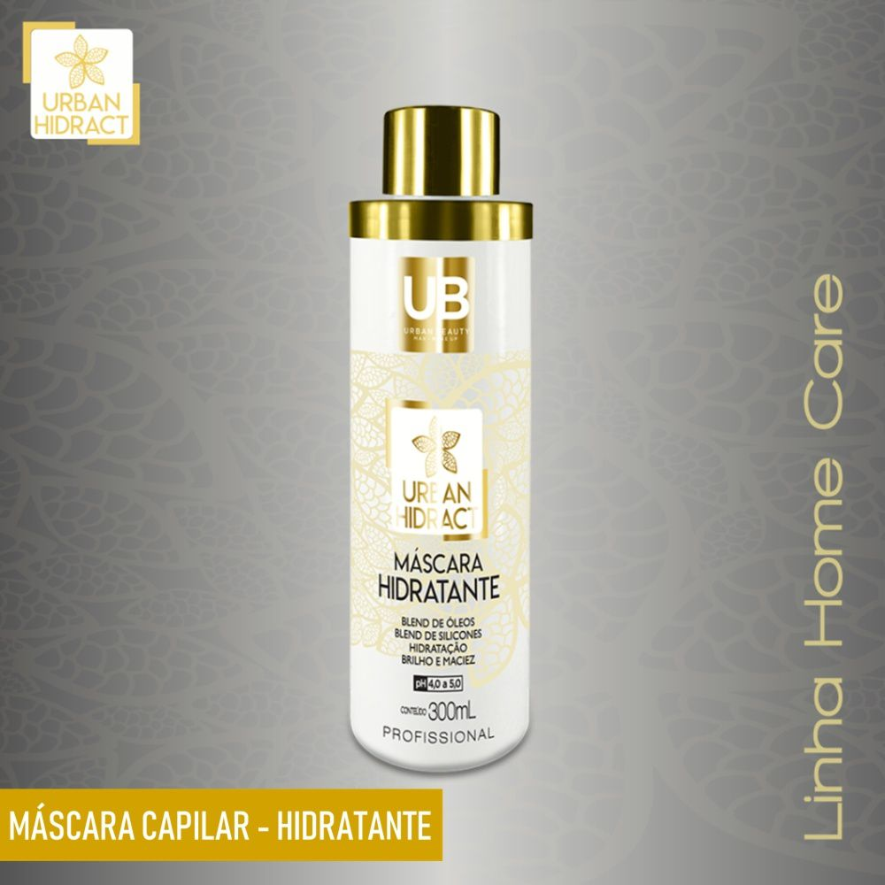 Mascara Hidratante Capilar Alta Tecnologia Urban Hidract Home Care - 300ml