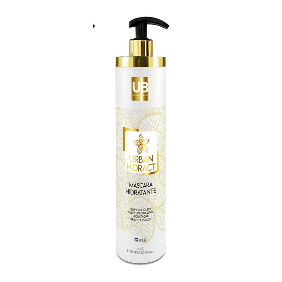 Mascara Hidratante Capilar Alta Tecnologia Urban Hidract Profissional - 1 Litro