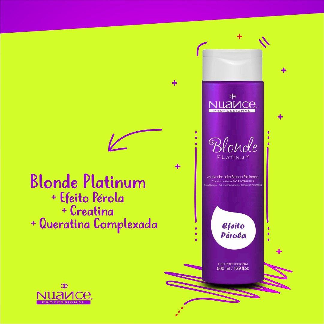Mascara Matizadora Blonde Platinum Nuance 500ml