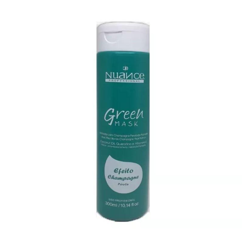 Máscara Matizadora Efeito Champagne Green Mask Matizador Nuance 300 Ml