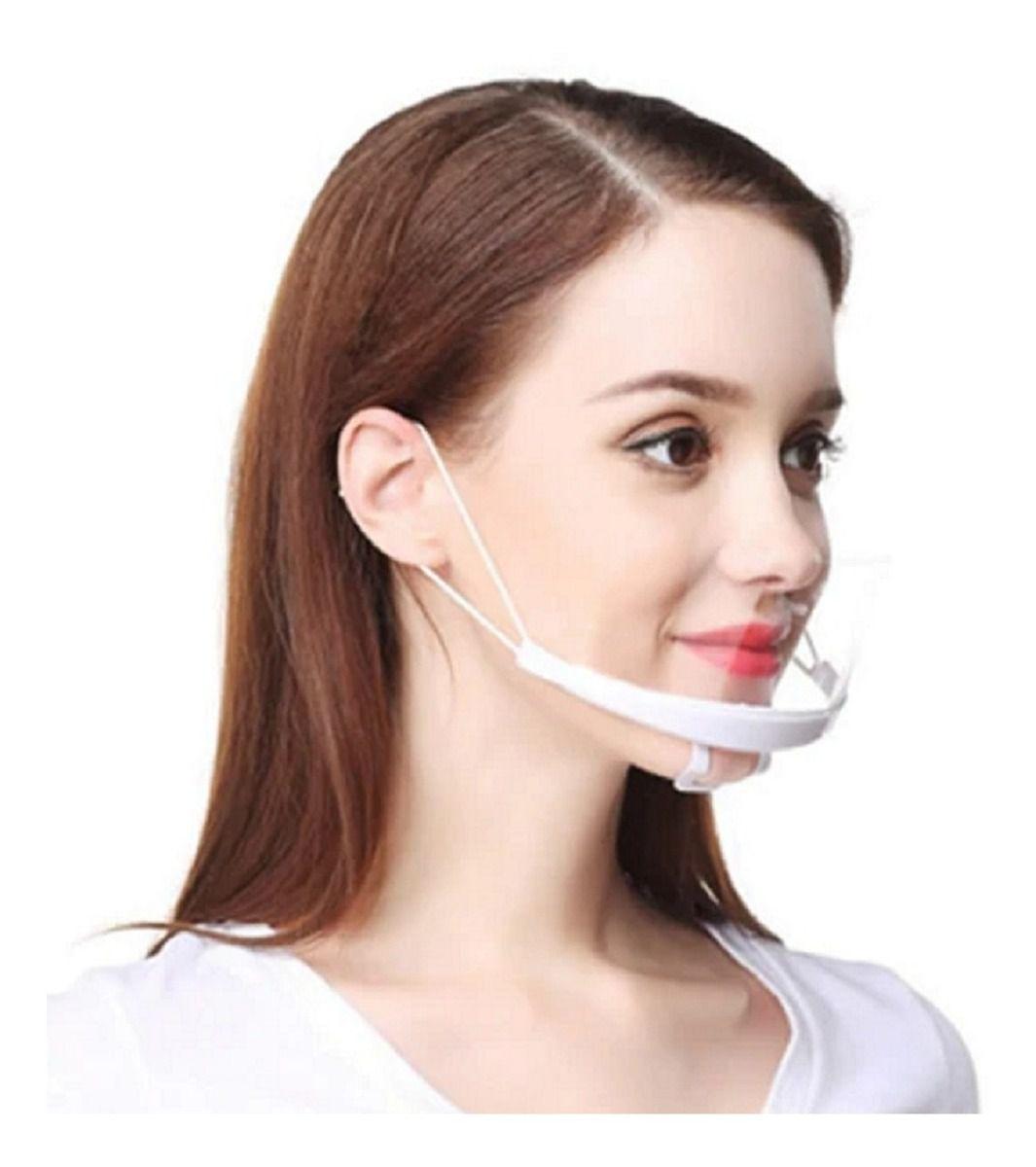 Mascara Transparente Higiênica Protetor Salivar Micropigmentação