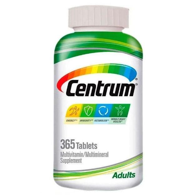 Multivitaminico Centrum Adulto Importado - 425 Comprimidos