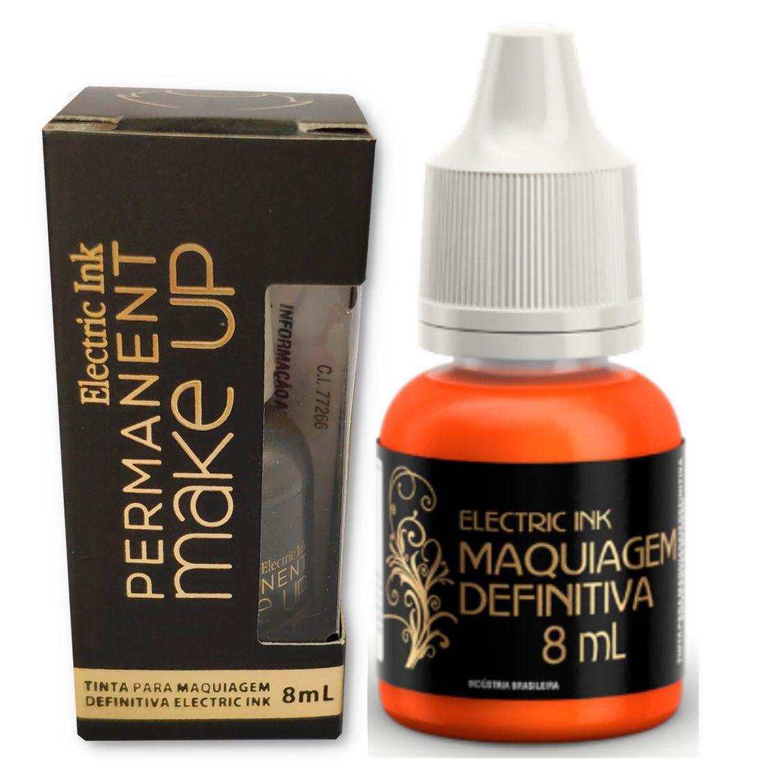 Pigmento Micropigmentação Pele Boca Sobrancelha Electric Ink - 8ml