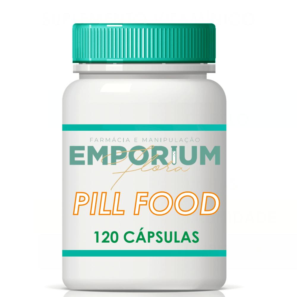 Pill Food Suplemento Completo Para Pele Unhas Cabelo - 120 Cápsulas