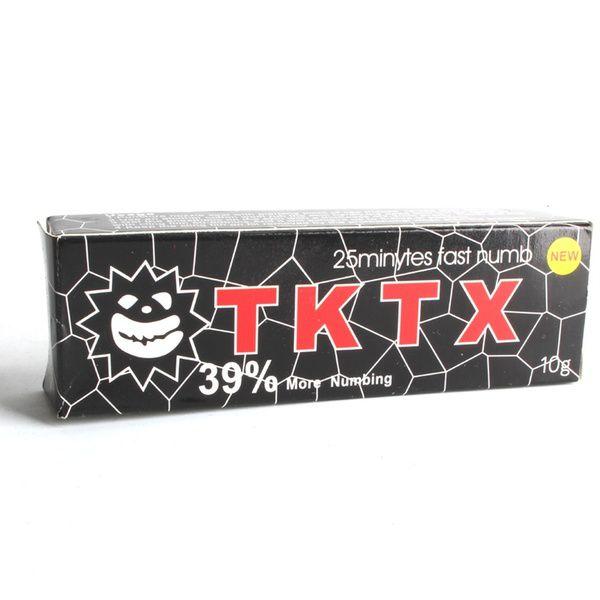 Pomada Anestésica TKTX Micropigmentação Microblading Tatuagem Preta - 10g