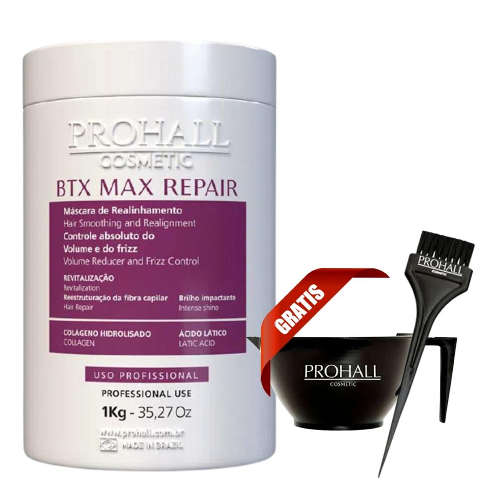 Prohall Btx Max Repair Reposição de Volume Revitalização - 1 Kg