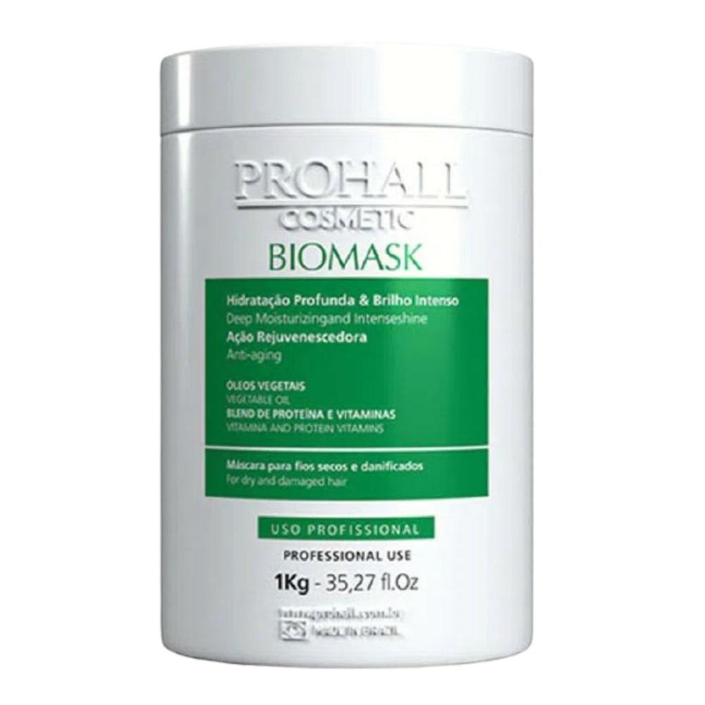 Prohall  Mascara Blend Repair Organico 1 Kg + Biomask Ultra Hidratante Teia 1 Kg