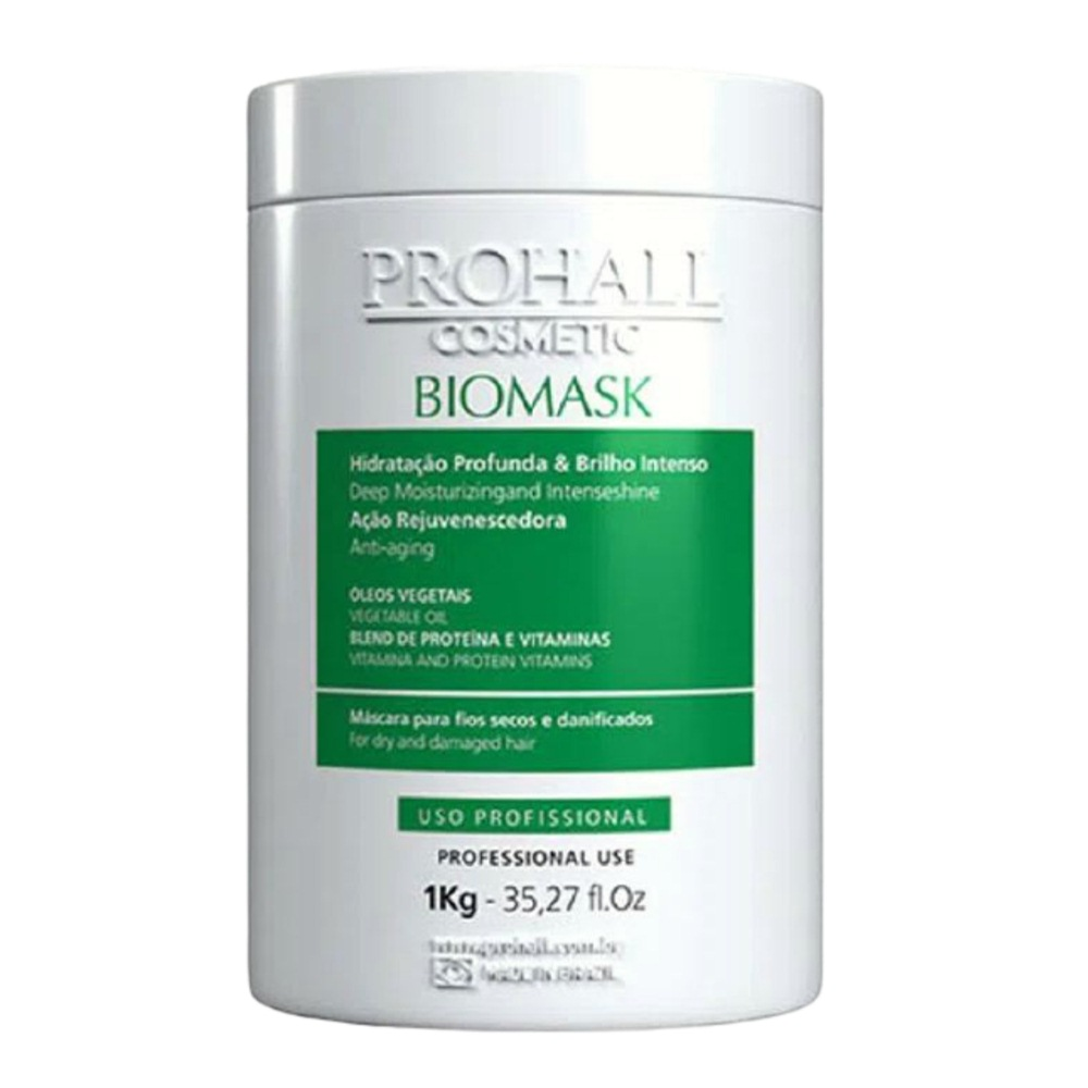 Prohall Progressiva Organica Burix One 1 L + Biomask Efeito Teia 1 Kg