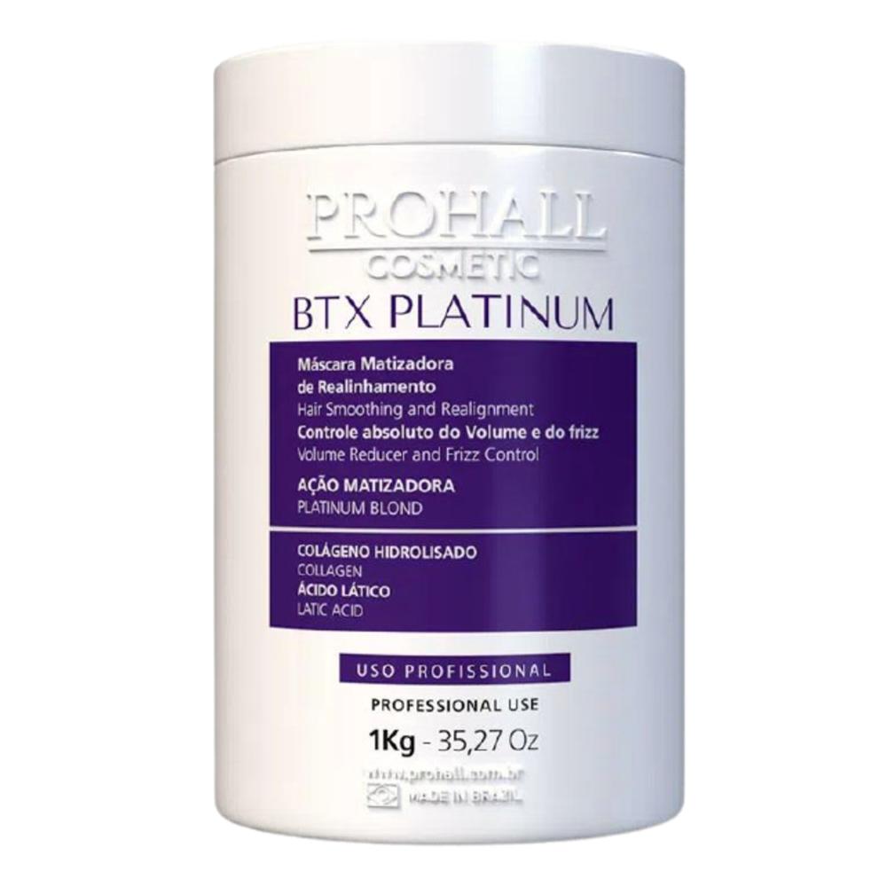 Prohall Progressiva Organica Burix One 1 L + Btx Platinum Matizador 1 Kg