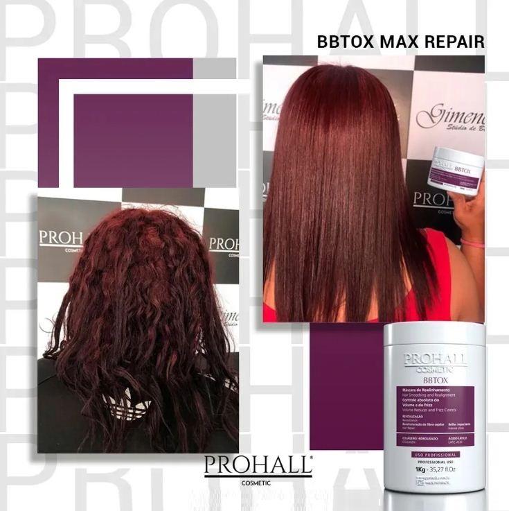 Prohall Progressiva Organica Burix One 300ml + Btx Max Repair 300g
