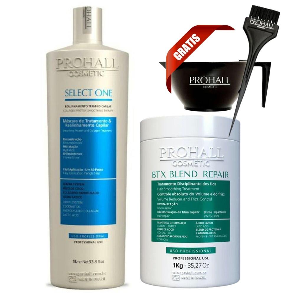 Prohall Progressiva Select One 1 L + Btx Blend Repair Organico 1 Kg