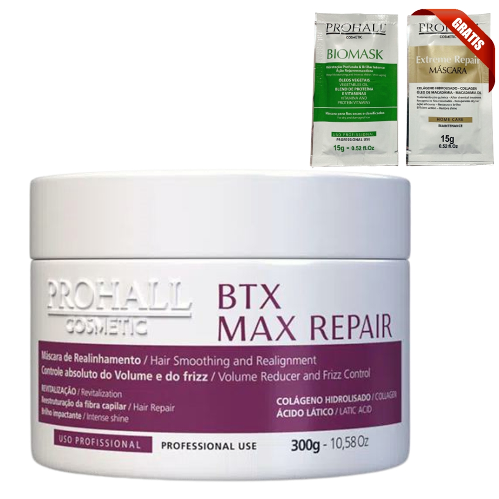 Prohall Progressiva Select One 300ml + Btx Max Repair 300g