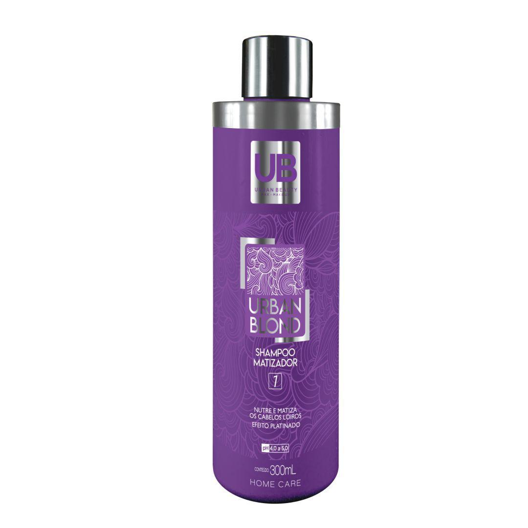 Shampoo Matizador Cabelos Loiros Descoloridos Grisalhos Urban Blond - 300ml
