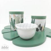 Kit Higiene | Folhagem Verde (LA2113)