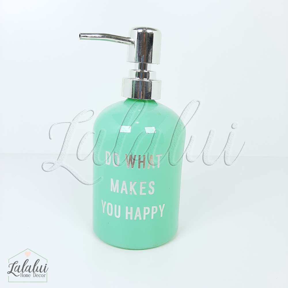 Dispenser | Do What - verde menta 8x8x18cm 400mL (LA2119)