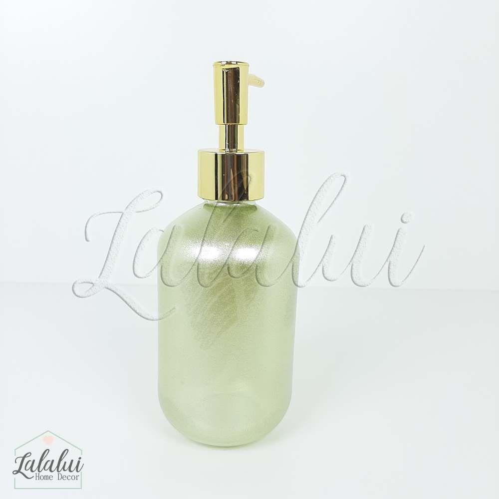 Dispenser | Gold Heart - dourado 7x7x18cm 250mL (LA2127)