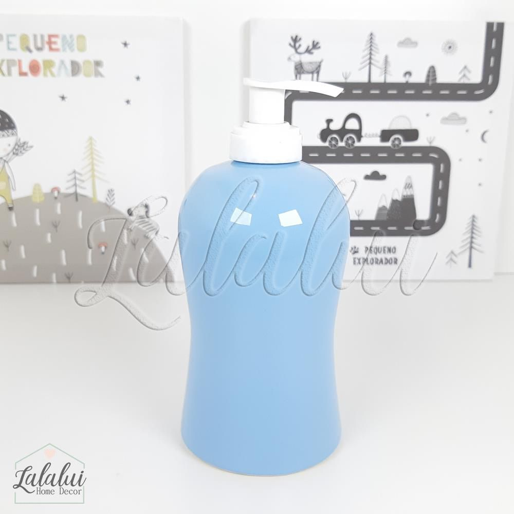 Dispenser para Álcool Gel | Azul Bebê - P53