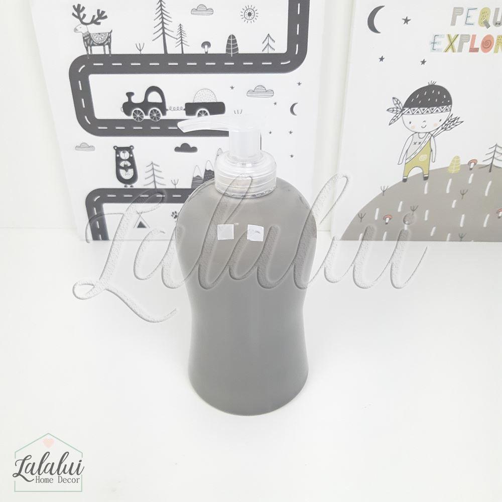 Dispenser para Álcool Gel | Cinza - P64