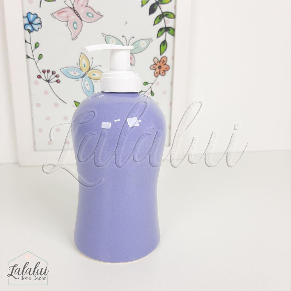 Dispenser para Álcool Gel | Lilás - P58