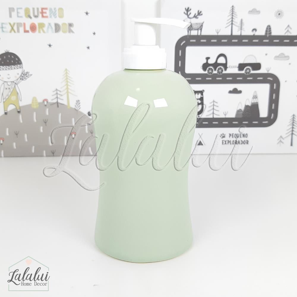 Dispenser para Álcool Gel | Verde Menta - P45