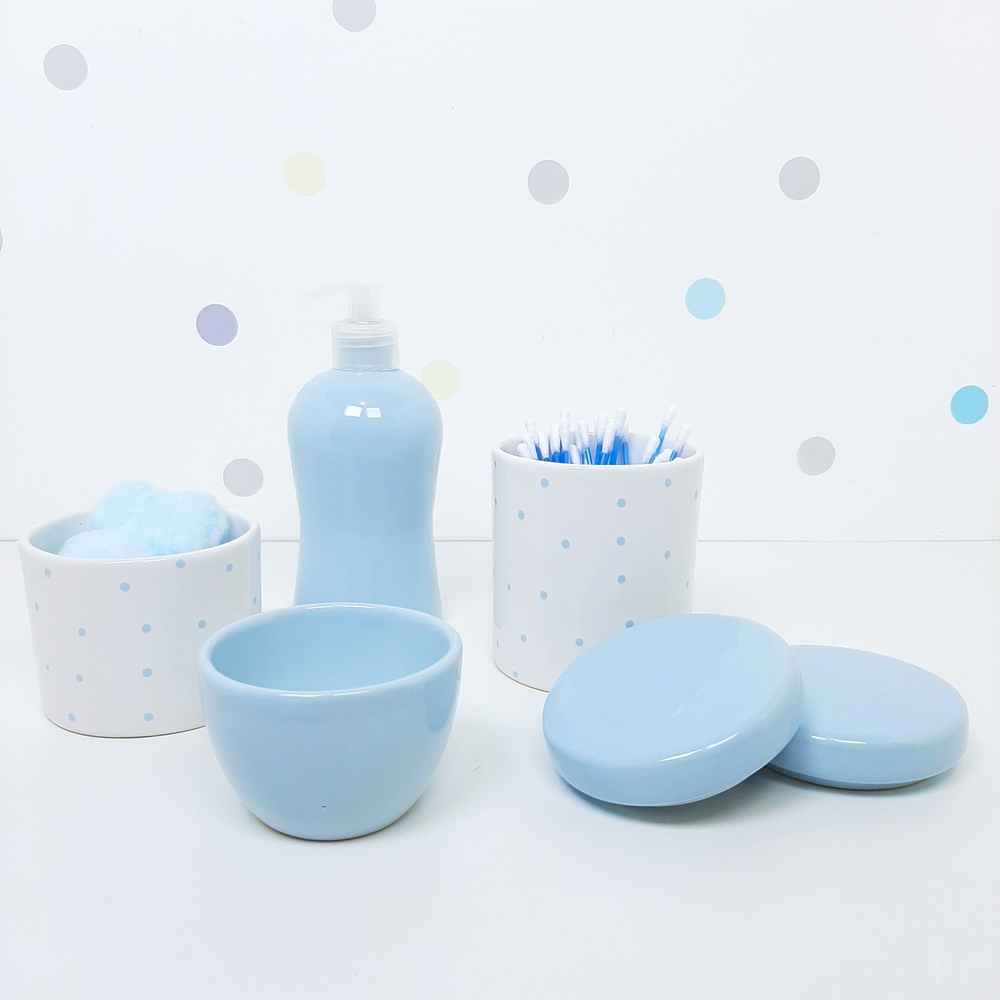 Kit Básico | Poá Azul (LA2297)