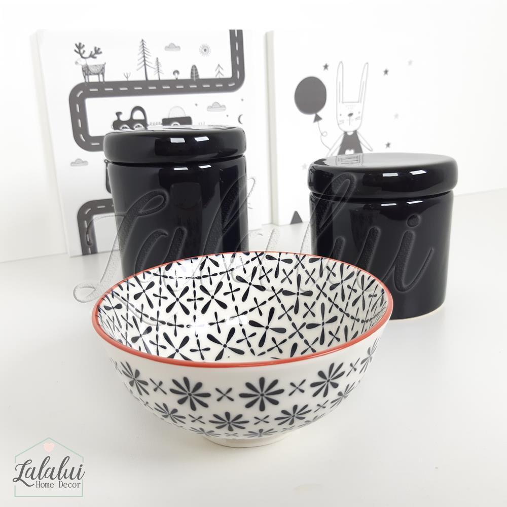 Kit de Potes | Preto e  Branco - P50