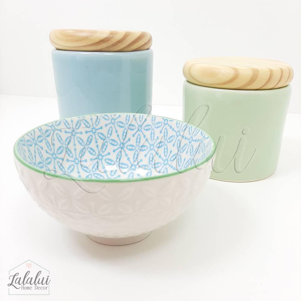 Kit de Potes | Verde Menta e Azul Candy (LA1143)