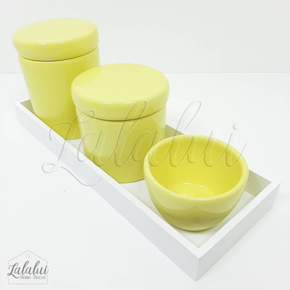 Kit Higiene | Amarelo Candy (LA2191)