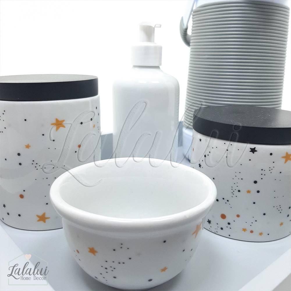 Kit Higiene | Universo Preto e Branco (LA2173)