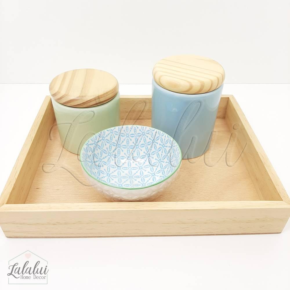Kit Higiene   Verde Menta e Azul Candy (LA2181)