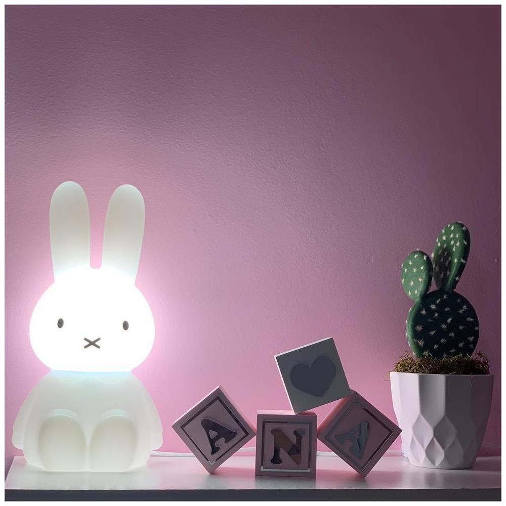 Luminária | Miffy com fio - cor Natural (LA2087)