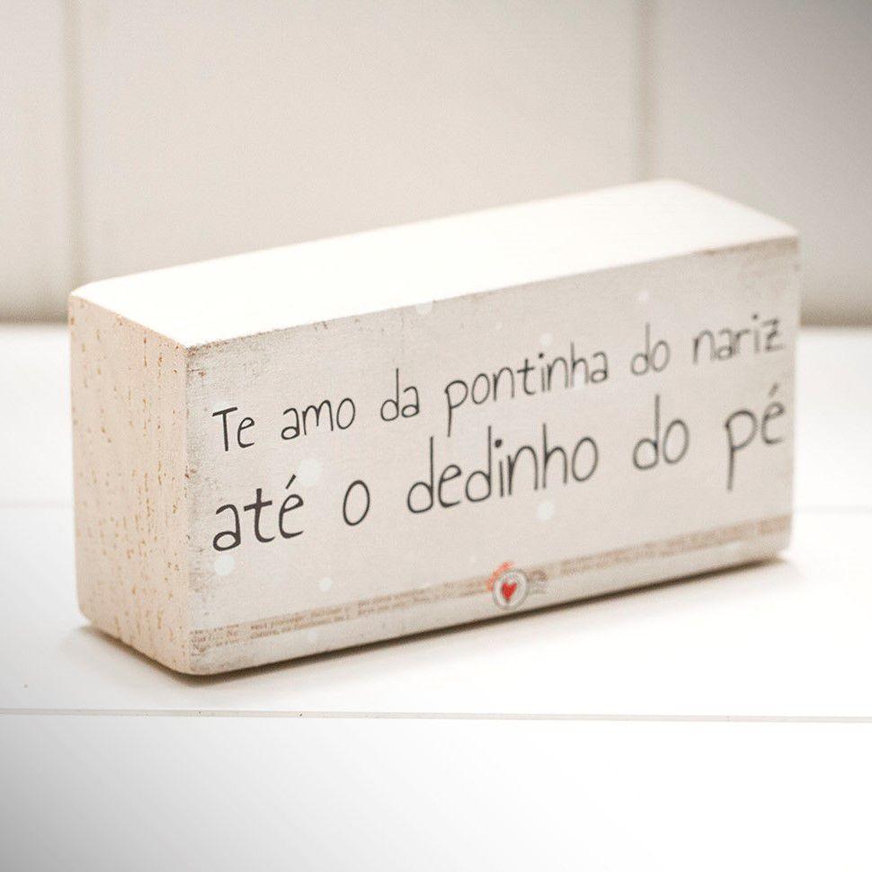 Mini Bloco de Madeira | Pontinha do Nariz