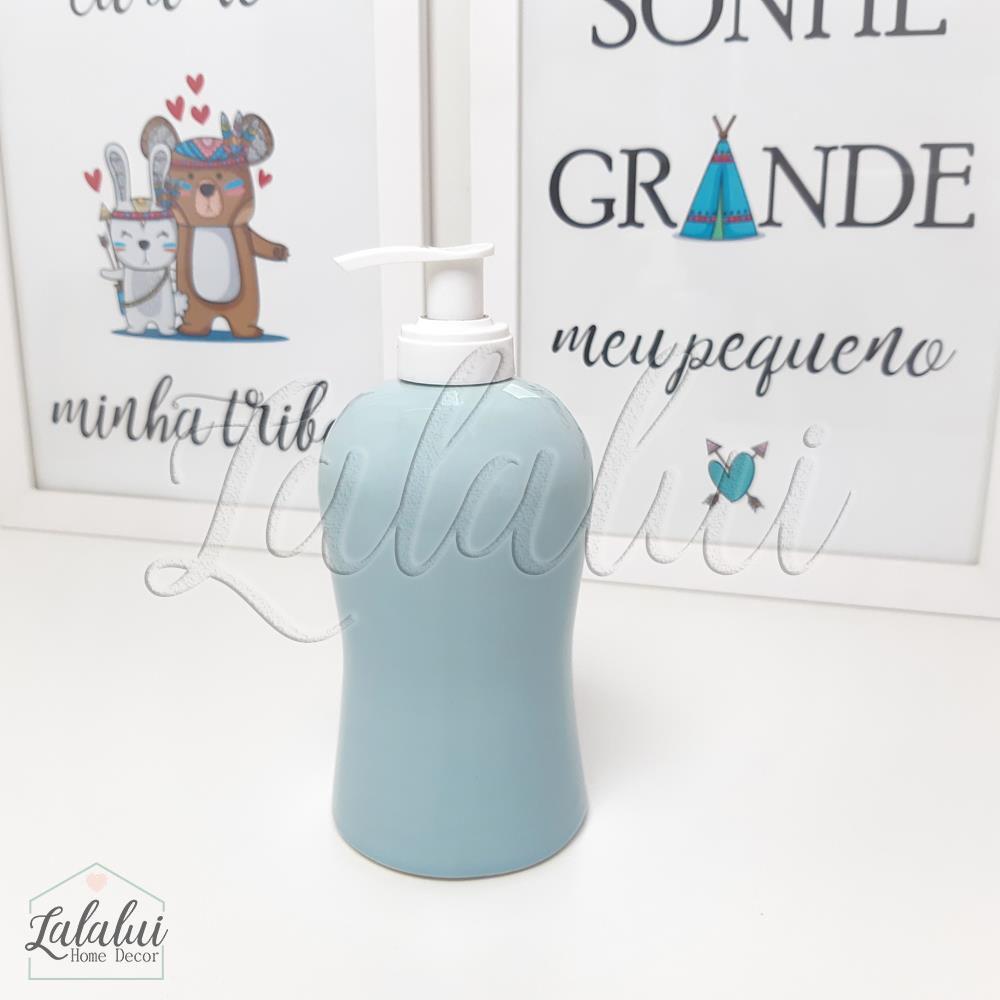 Dispenser para Álcool Gel | Azul Candy - P24