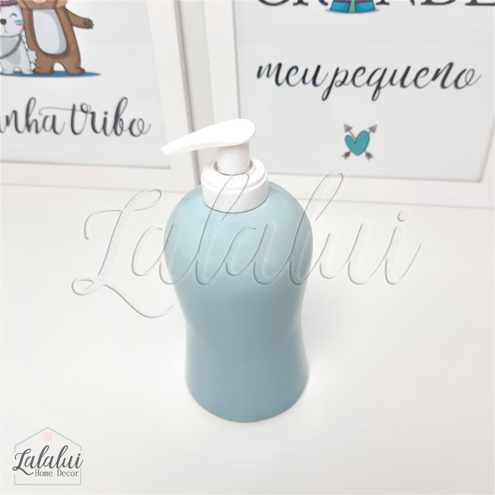 Dispenser para Álcool Gel | Azul Candy - P24
