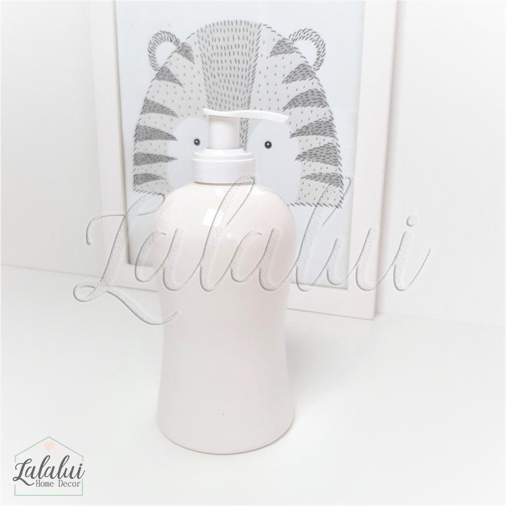 Dispenser para Álcool Gel | Branco - P36