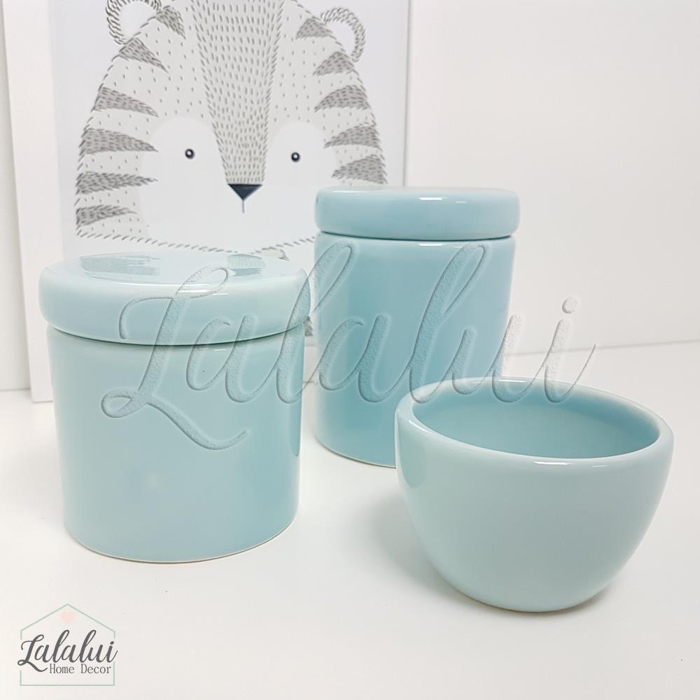 Kit de Potes   Azul Candy - P22