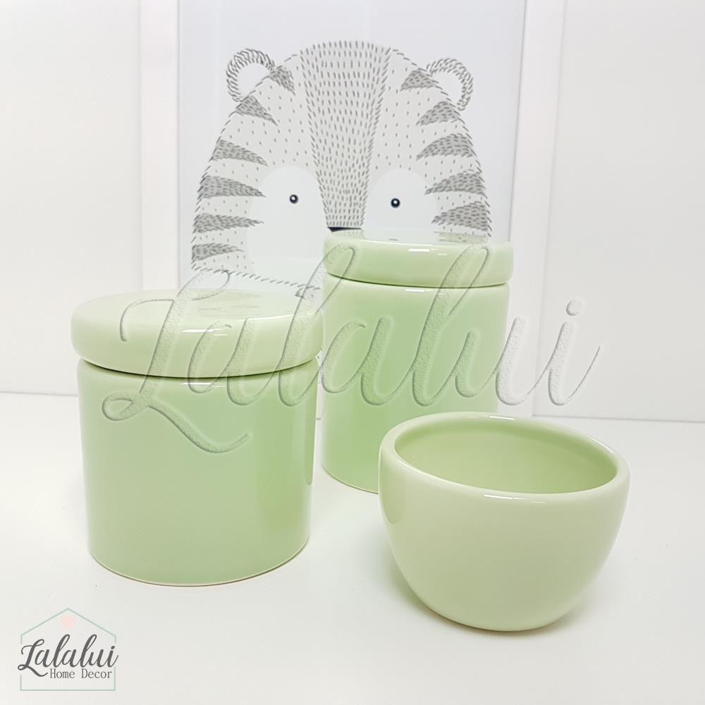 Kit de Potes | Verde Menta - P23