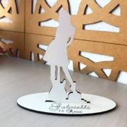 Ref. 044 - Kit Lembrancinhas Debutante Violão - MDF Branco