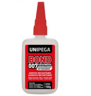 ADESIVO INSTANTANEO 007 BOND 100GR - UNIPEGA