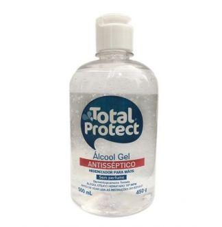 ALCOOL EM GEL ANTISSEPTICO 70 INPM 500ML TOTAL PROTECT- TOTAL ARTE