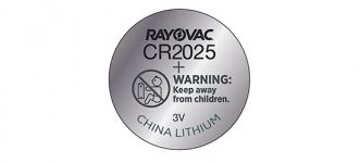 BATERIA LITHIUM CR2025 3V - RAYOVAC