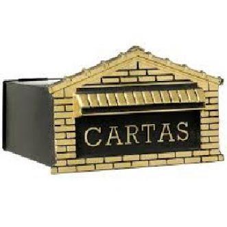 CAIXA CORREIO COLONIAL OURO - ARTEX
