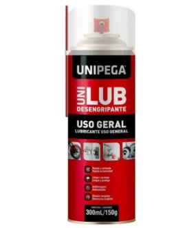 DESENGRIPANTE SPRAY UNILUB 300ML/150GR - UNIPEGA