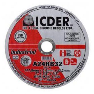 DISCO DE CORTE A24RB32 - ICDER