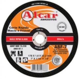 DISCO DE CORTE ABF-7 180x1,6x22,2MM