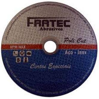 DISCO DE CORTE T41-A36TBF 50,8X1,6X6,4MM - FRATEC