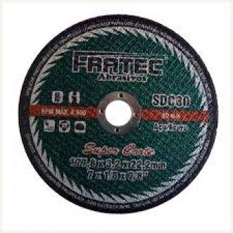 DISCO DE CORTE T41-A24RBF 76,2X32,X9,5MM - FRATEC